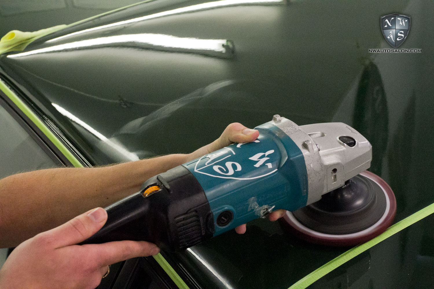Mill Creek Auto Detailing NorthWest Auto Salon Motoring Unlimited Audi Sport Quattro Green