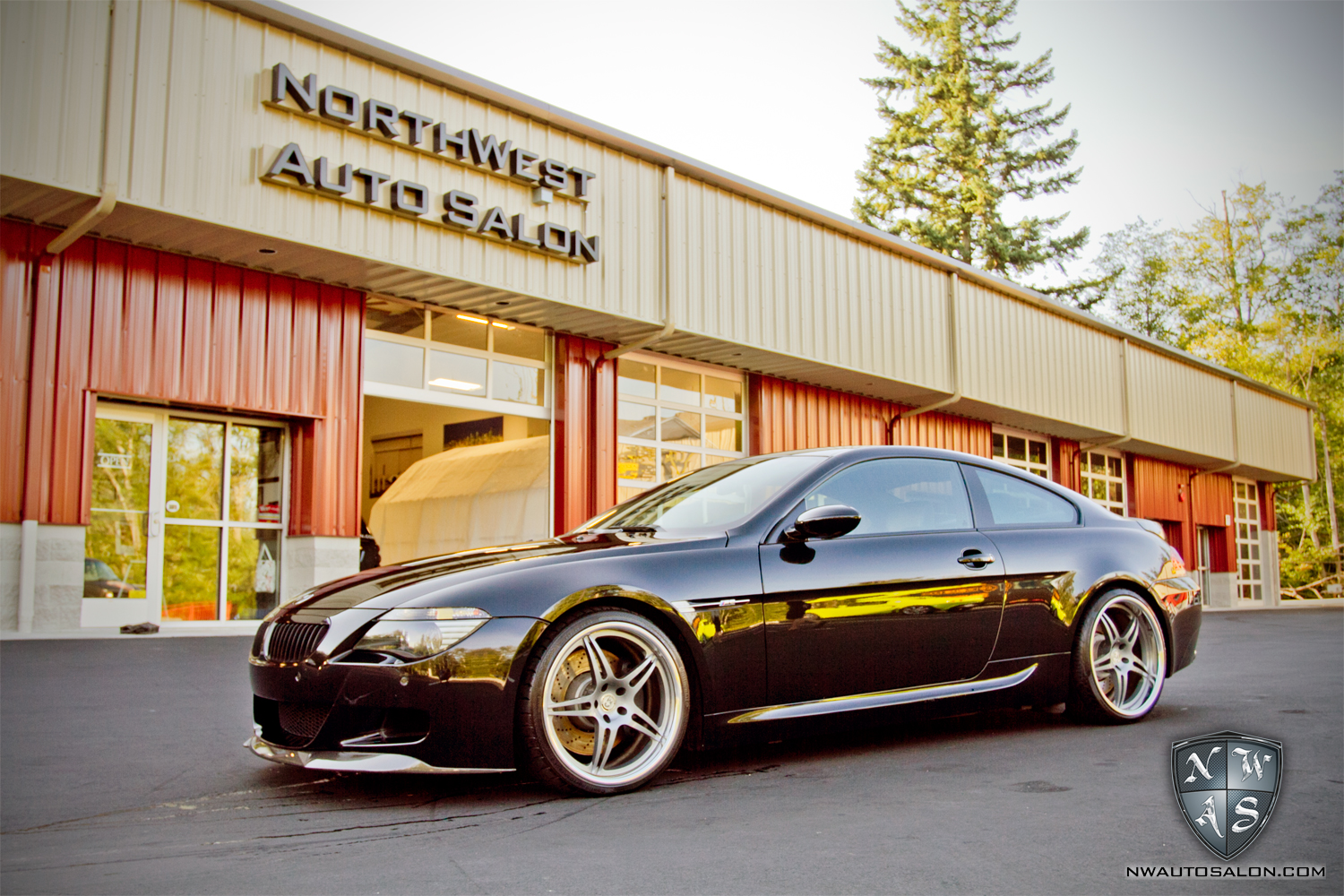 Alderwood Auto Detailing NorthWest Auto Salon BMW M6 Exterior