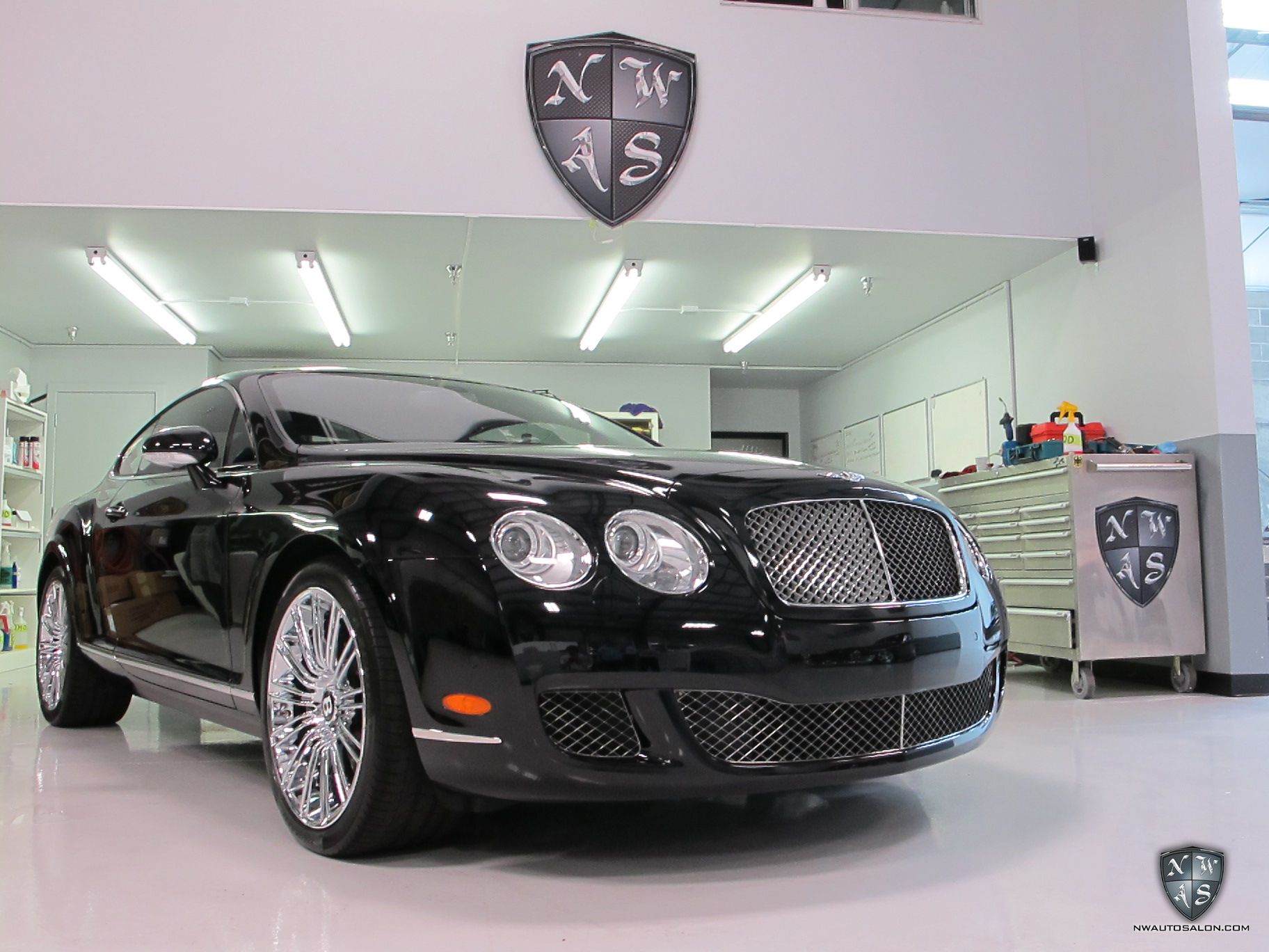 Lynnwood Auto Detailing NorthWest Auto Salon Bentley Continental GT Speed Exterior Detail