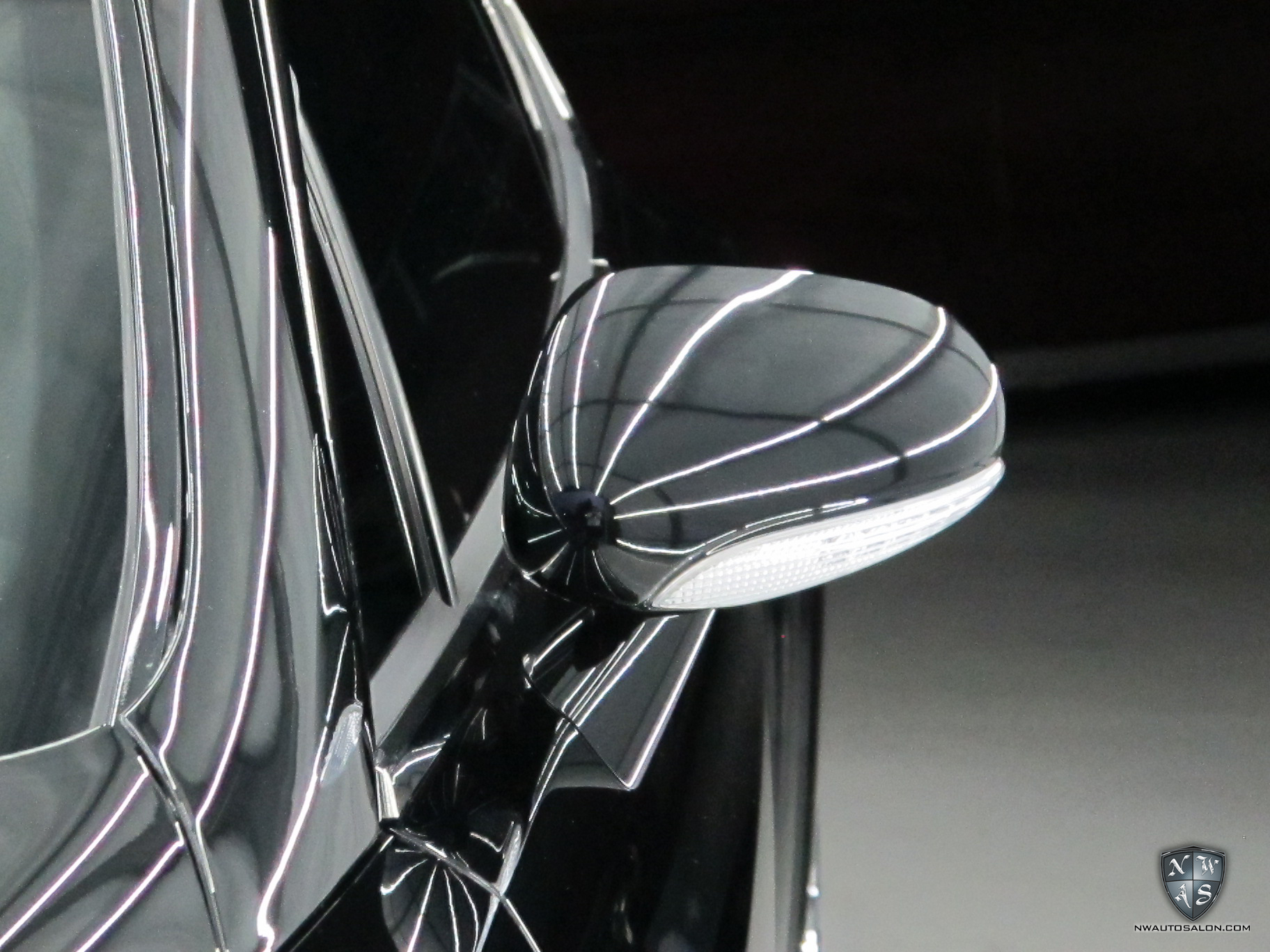 Lynnwood Auto Detailing NorthWest Auto Salon Bentley Continental GT Speed Mirror