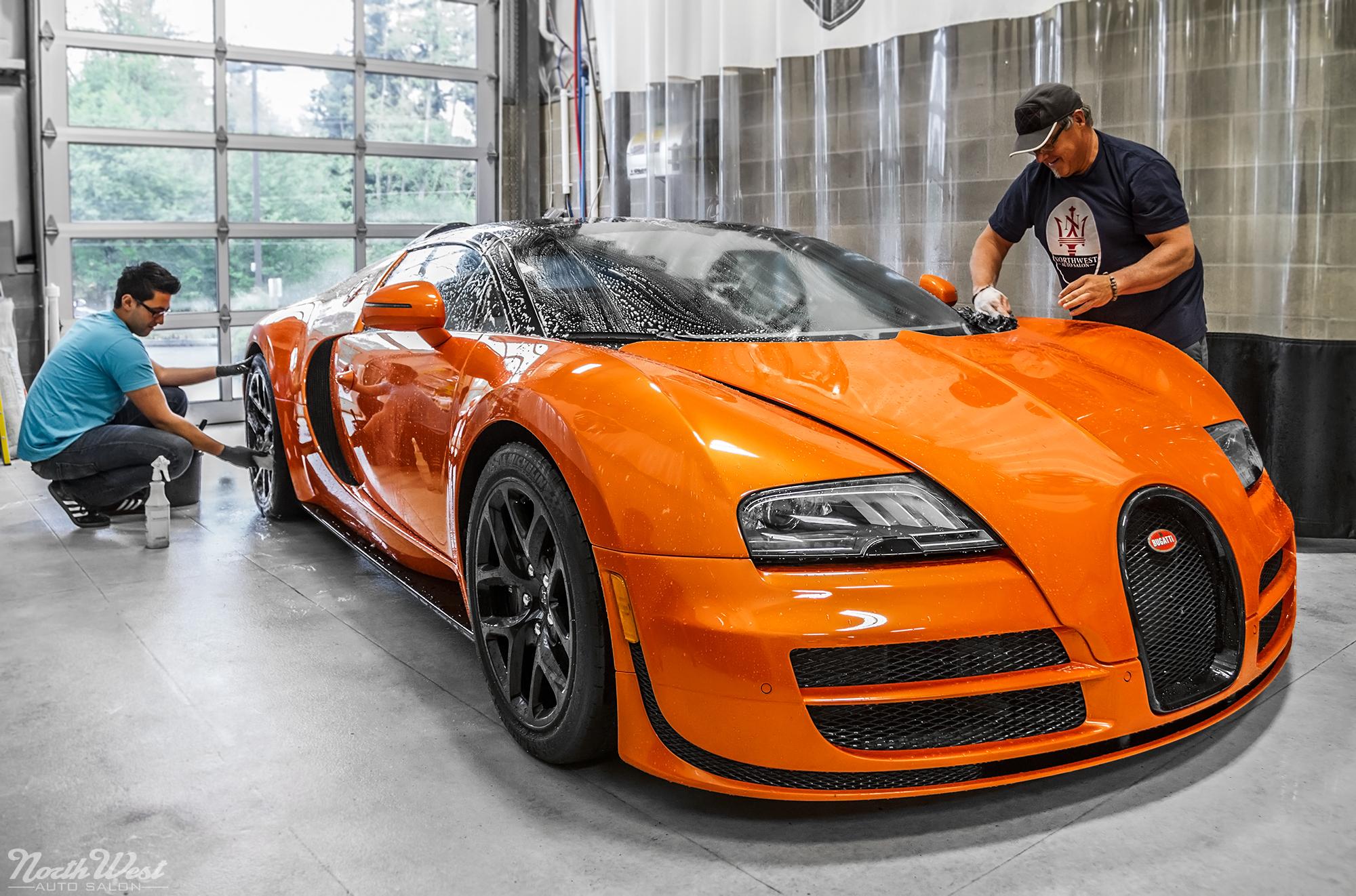 Bugatti-Veyron-Grand-Sport-Vitesse-detailed-NorthWest-Auto-Salon-handwash Amazing Bugatti Veyron Grand Sport Vitesse Information Cars Trend