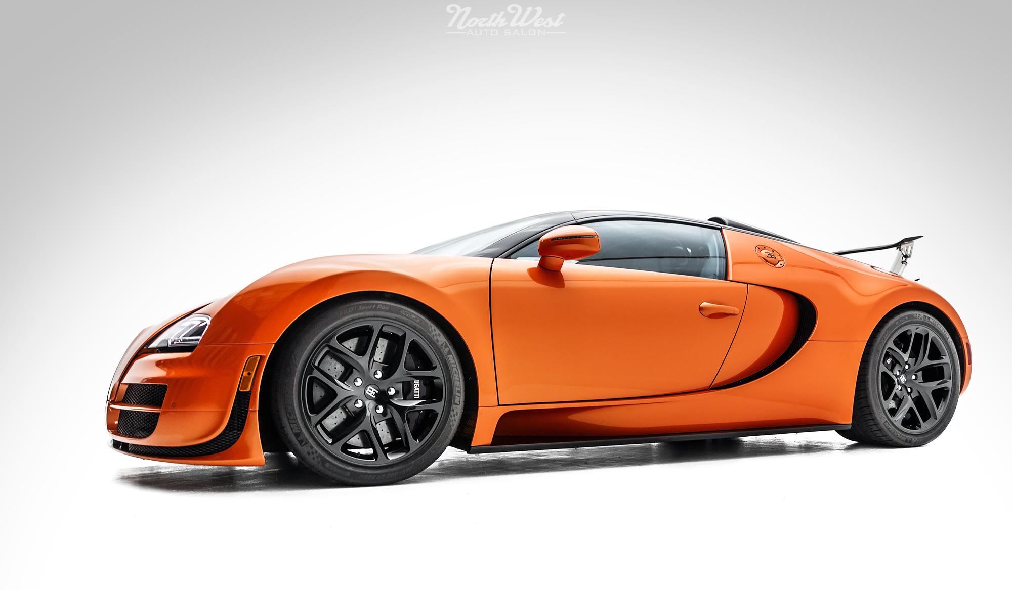 bugatti veyron vitesse detailed in seattle. Black Bedroom Furniture Sets. Home Design Ideas