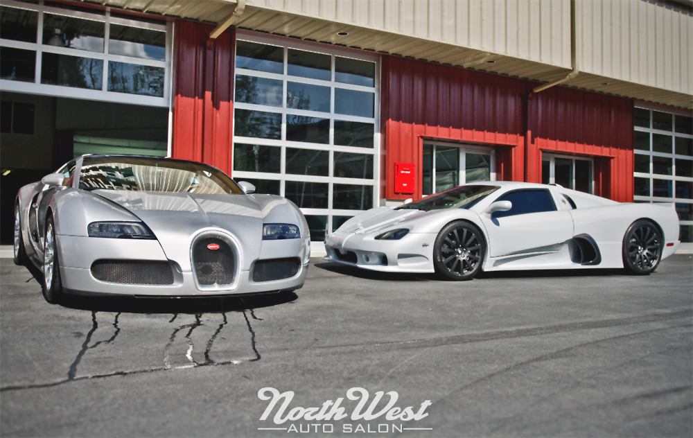 Bugatti Veyron Grand Sport at NorthWest Auto Salon