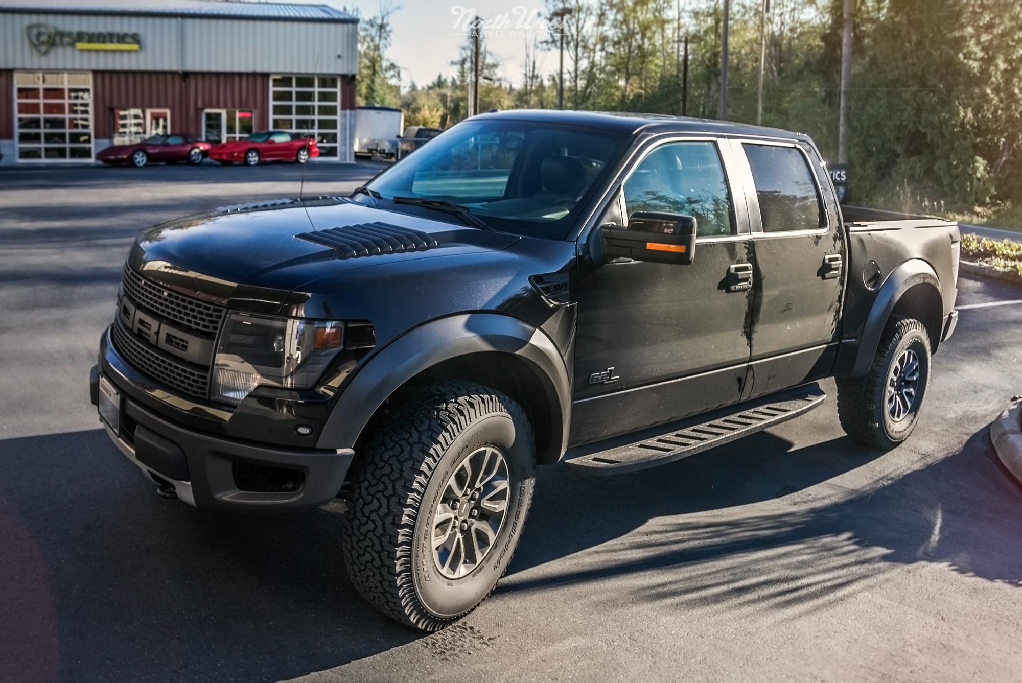 Clint Dempsey s Ford Raptor Wrap & f Road Build