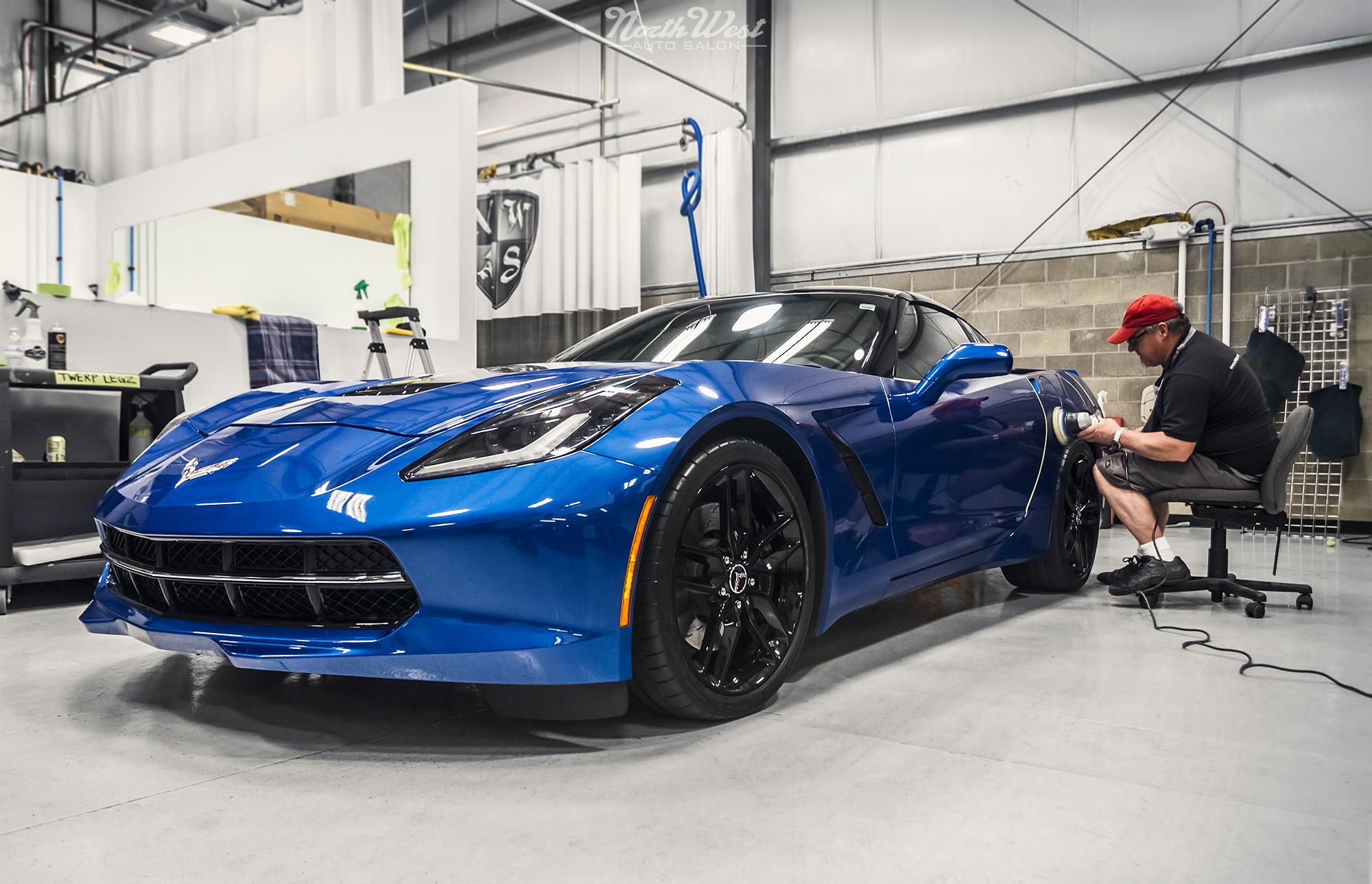 c7 corvette stingray new car detail gtechniq northwest