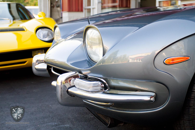 Woodinville Auto Detailing NorthWest Auto Salon Lamborghini Miura S and 400gt