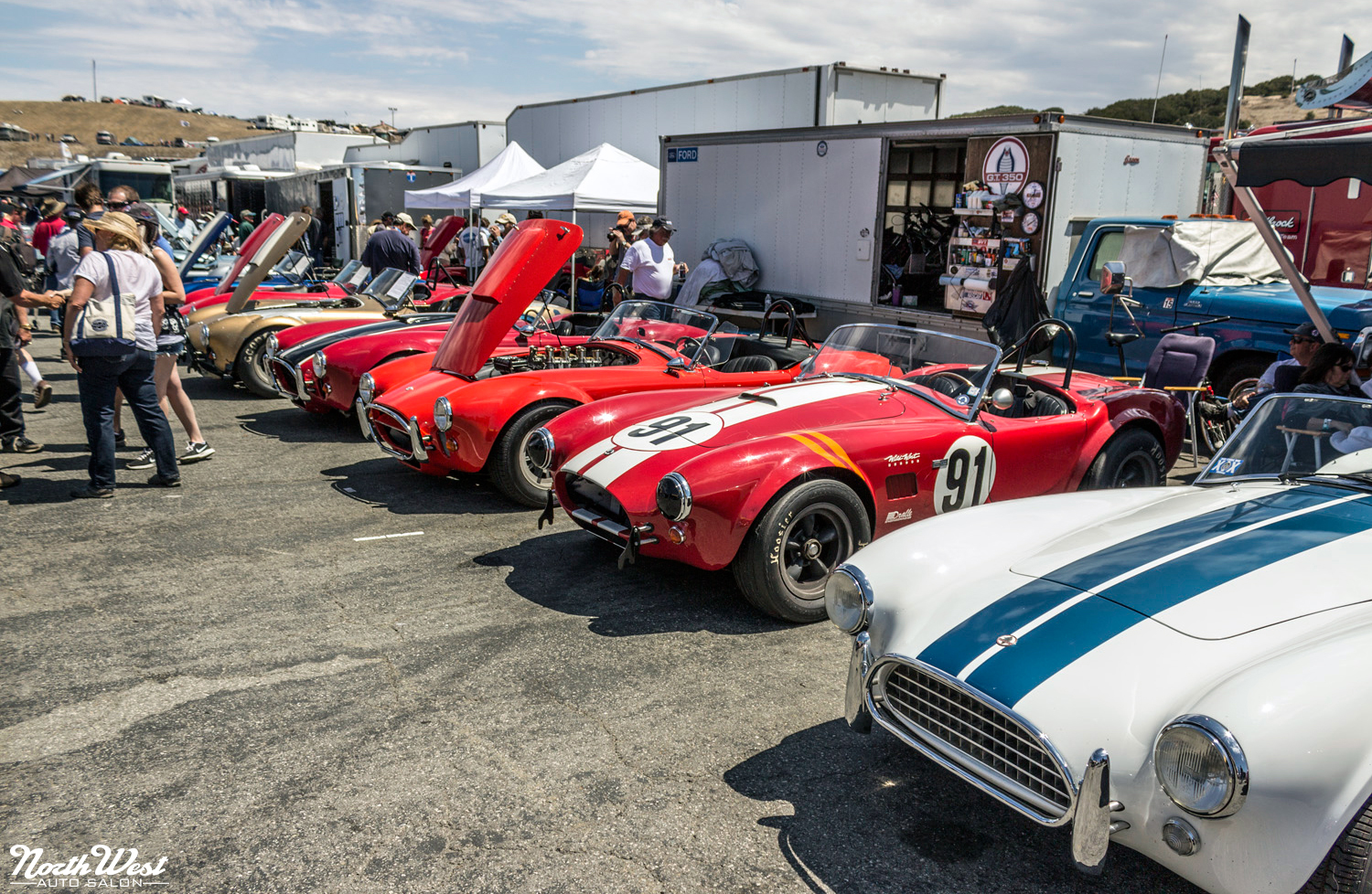 NorthWest Auto Salon Pebble Beach Rolex Monterey Motorsports Reunion