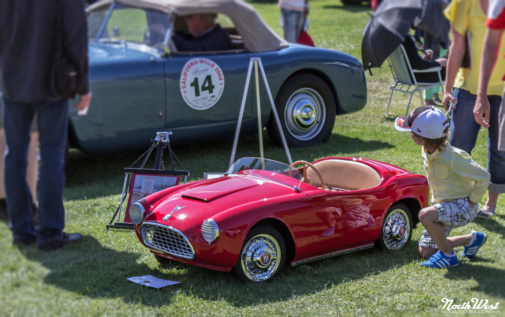 Monterey Car Week Concorso Italiano 2012 Northwest Auto Salon