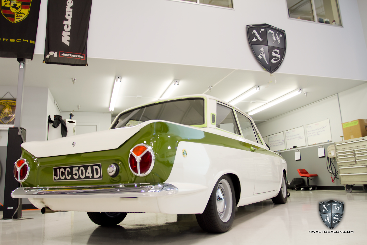 Mill Creek Auto Detailing NorthWest Auto Salon Motoring Unlimited Lotus Cortina