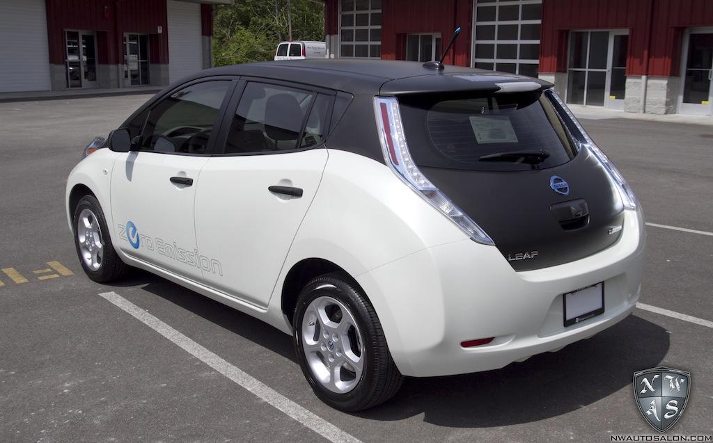 Nissan Leaf Forum >> That S A Wrap My Nissan Leaf Forum