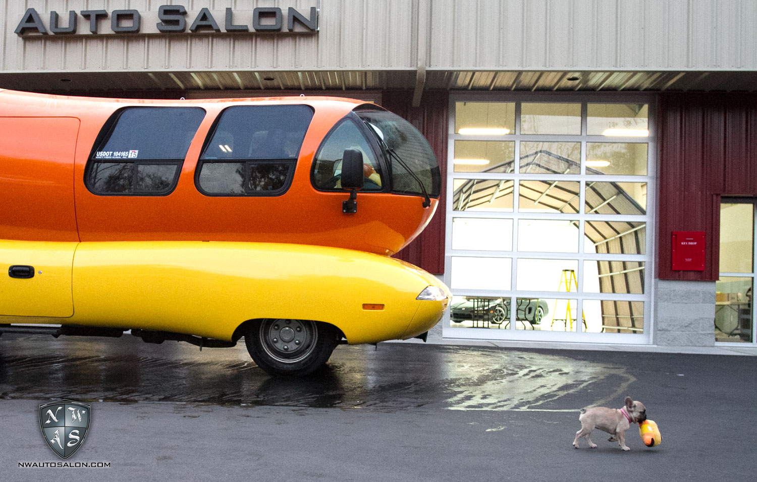 Seattle Auto Detailing NorthWest Auto Salon Oscar Mayer Wienermobile handwash