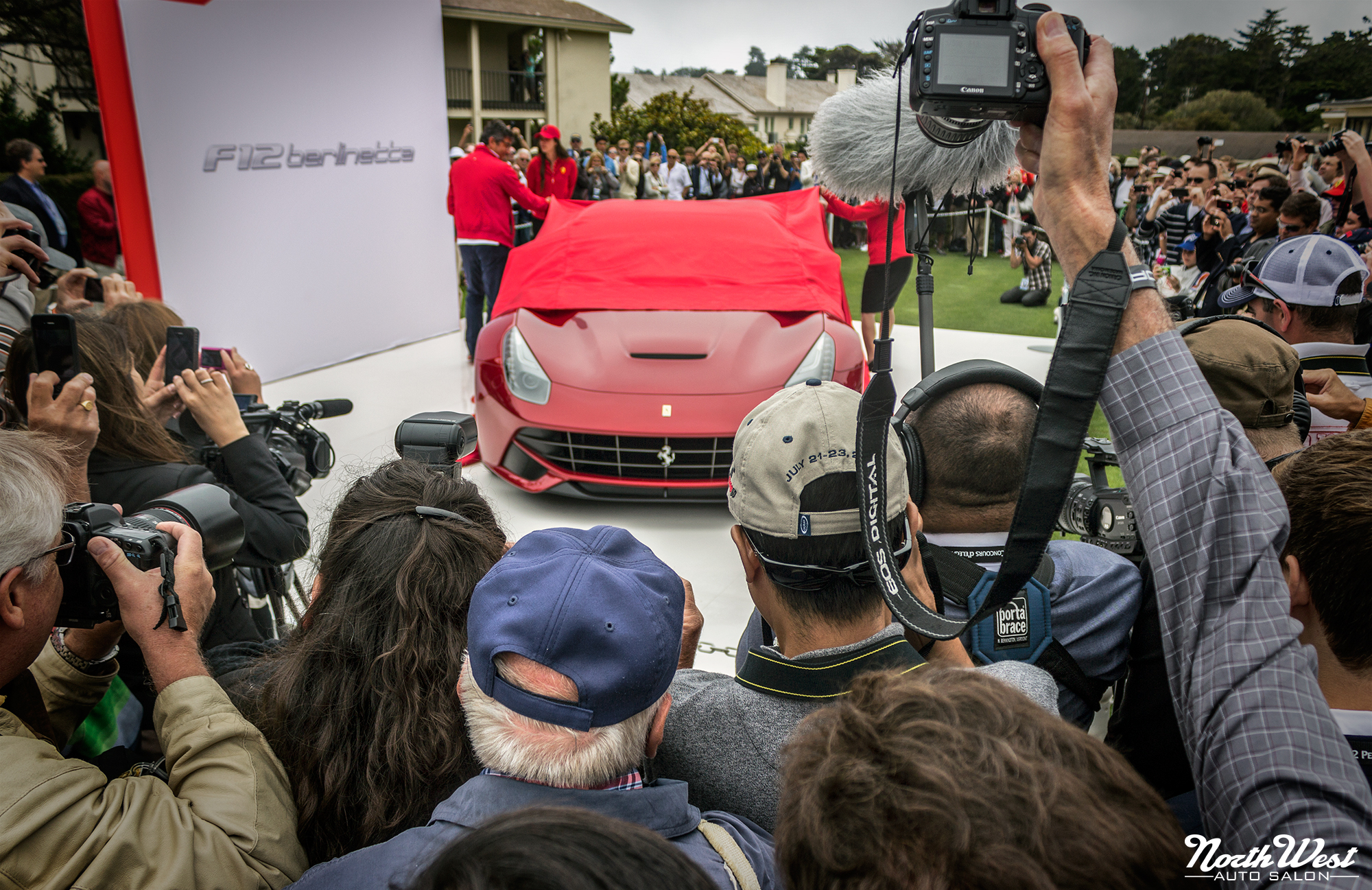 NorthWest Auto Salon Pebble Beach Concours d'Elegance Ferrari F12