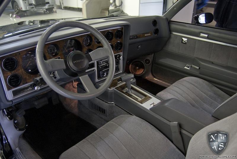 exterior and interior auto detailing on rare pontiac grand prix aerocoupe northwest auto salon. Black Bedroom Furniture Sets. Home Design Ideas