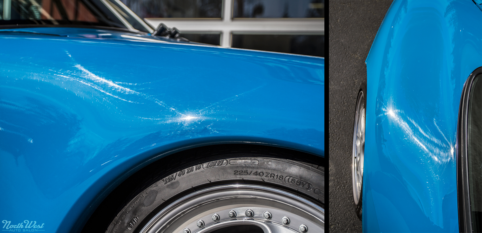 NWAS fanatic detail paint correction rare Blue Turquoise 993 Fanatic Detail