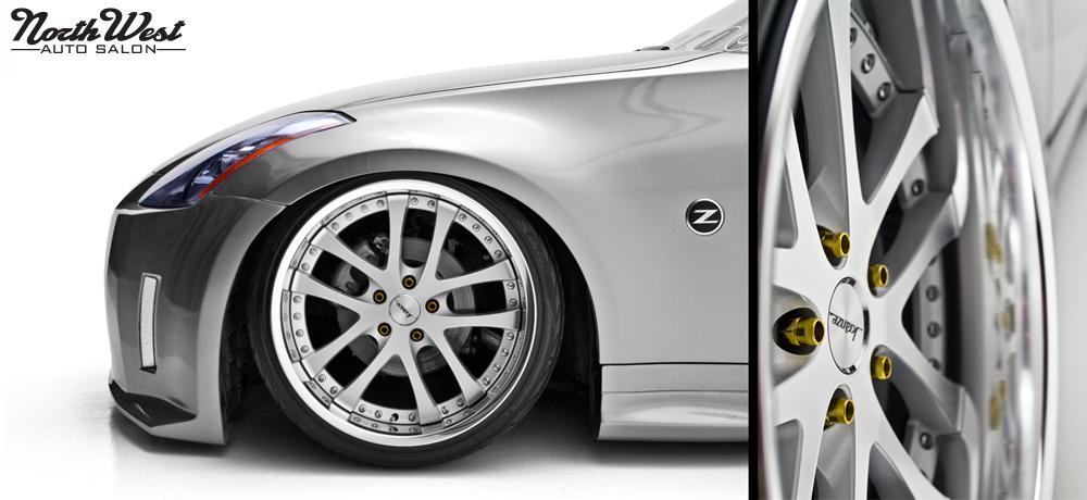 NorthWest Auto Salon details StanceWars winner Nissan 350z
