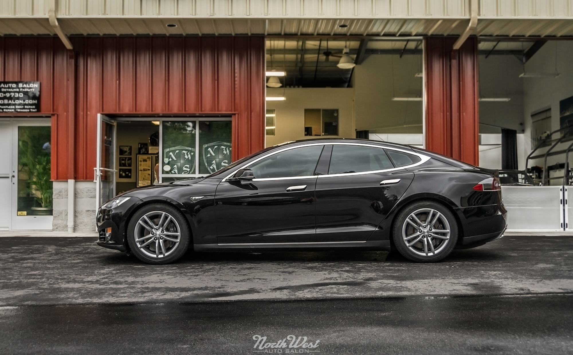 Prestige Spectra PhotoSync Window Tint installed on Tesla Model S