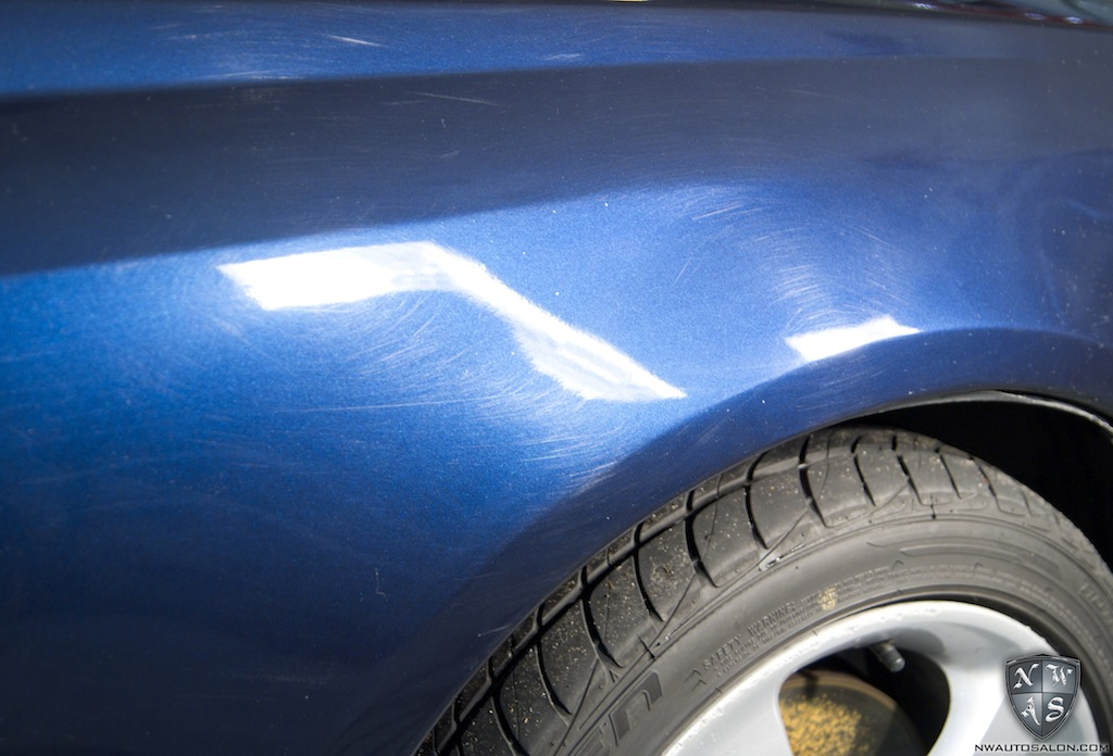 Paintless Dent Repair Seattle NorthWest Auto Salon Subaru Legacy GT