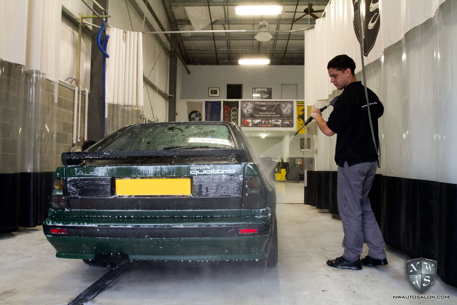 Motoring Unlimited S Audi Sport Quattro Detailing At Nwas