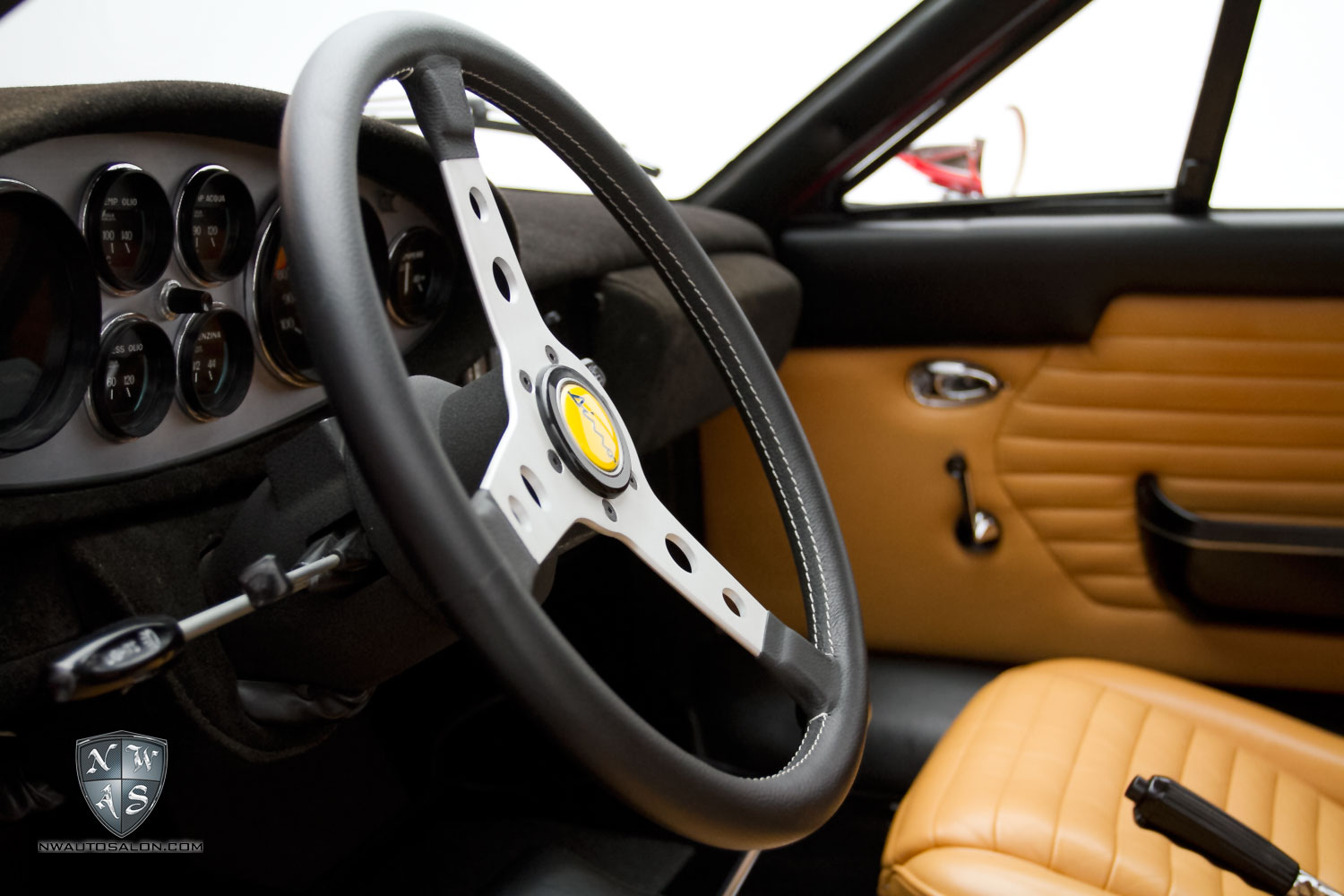 Dino 246gt detailed at nwas - Auto interior detailing products ...