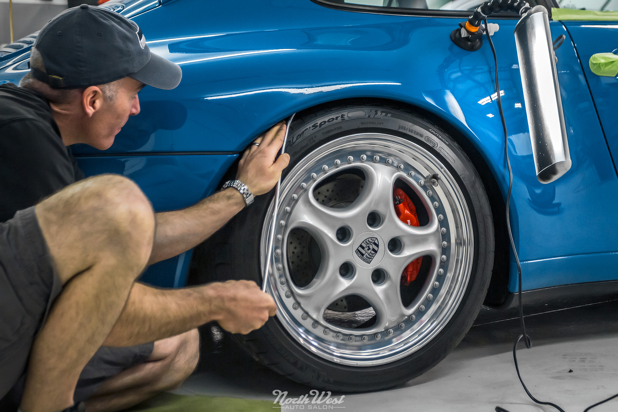 Rare Blue Turquoise 993 Recieves Fanatic Detail At Nwas